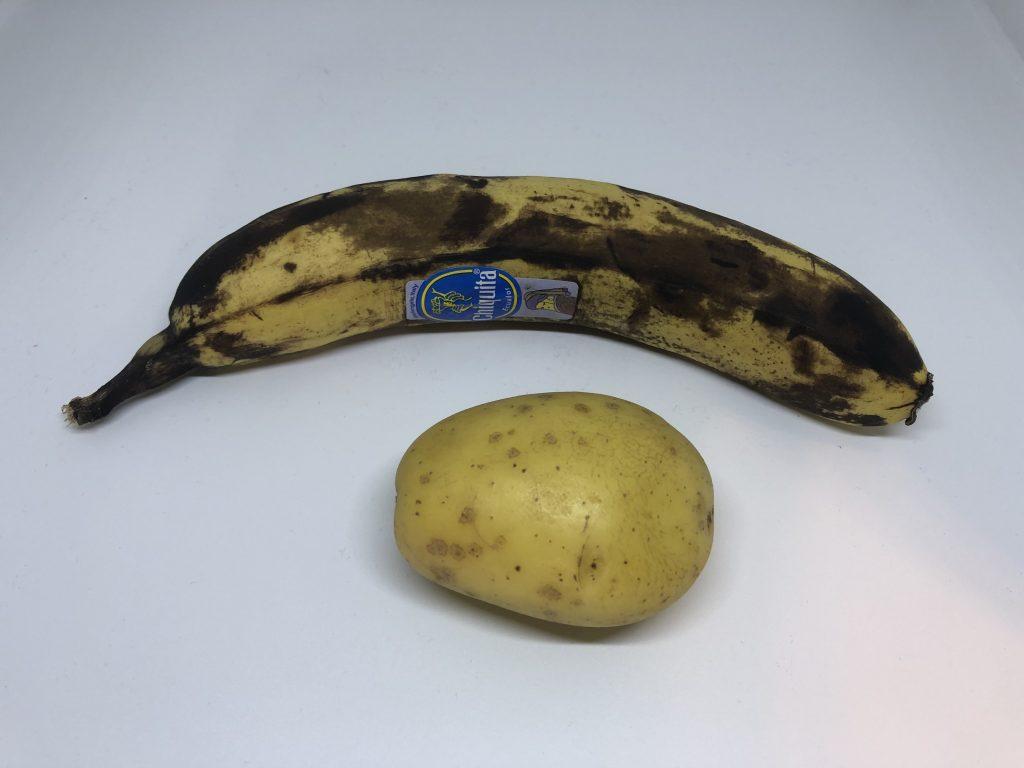 Banana and Potato
