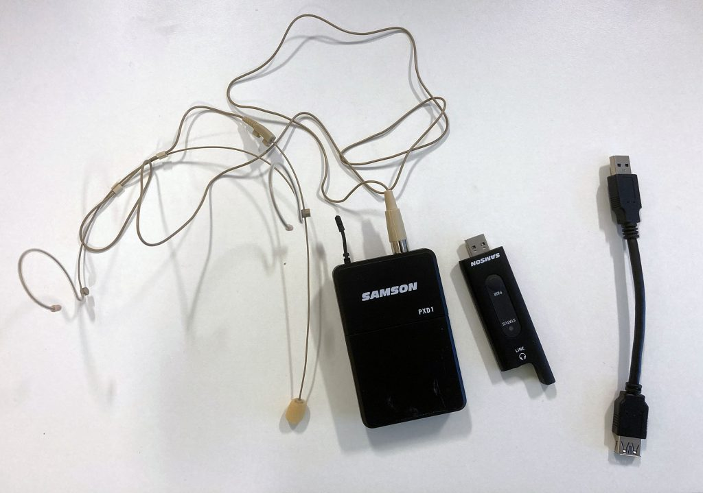 Samson XPD2 -headset