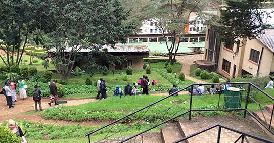 Kampusaluetta Tansaniassa
