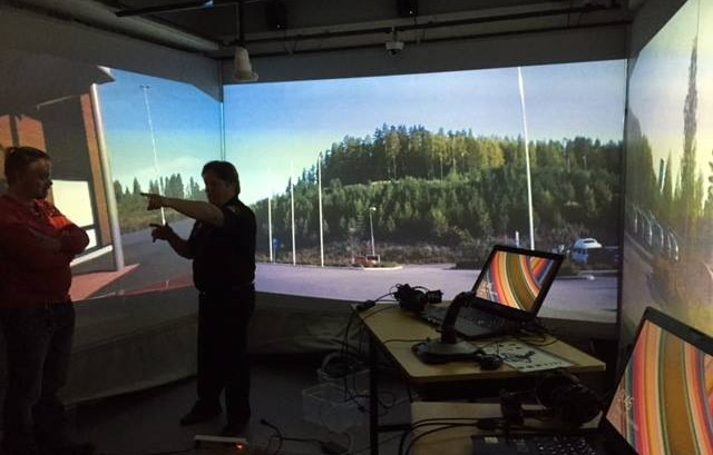 Keski-Suomen Pelastuslaitoksen simulaatiotila