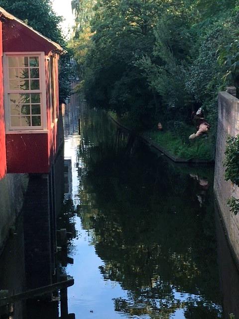 SHertogenboschin viehättävä kaupunki Hollannissa