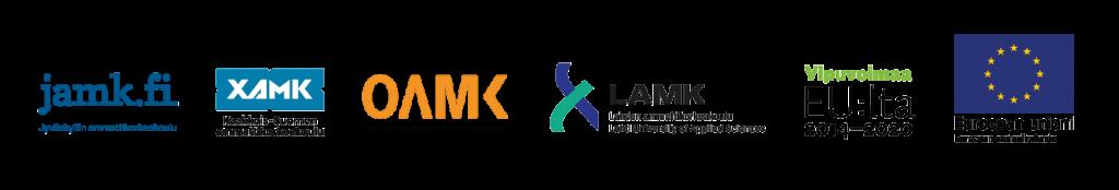 projektin toteuttajien ja rahoittajan logot