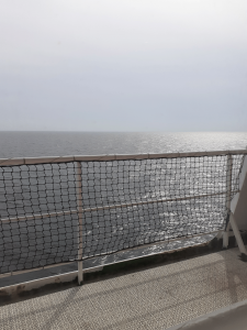 Sea from ferry