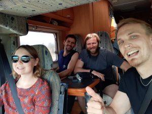 Jenna, David, Josh, me