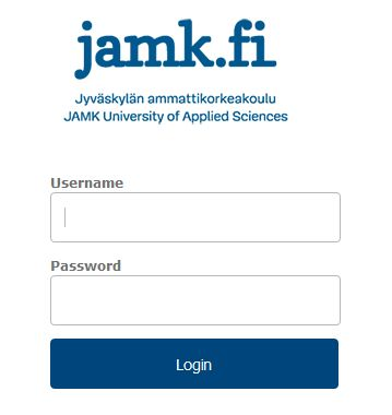 JAMK login