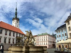 Olomouc's main square