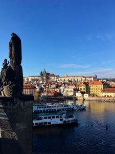 Prague in early autumn