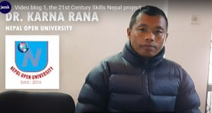 The 21st Century Skills Nepal – Video blog