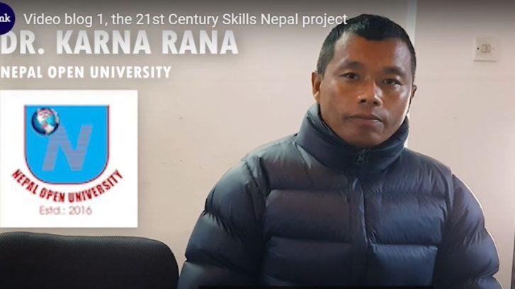Dr Khana Rana from Nepal Open University