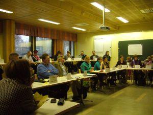 TNO-asiantuntijat kokoontuivat Salmiaan 4.-5.11.