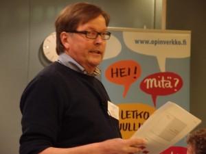 OpinVerkon projektipäällikkö Antti Lehkonen.