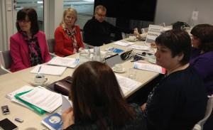 Kaakkois-Suomen tilannekatsauskäynnillä oli mukana ELY-keskuksen edustus ja Opin ovien yhteyshenkilöitä.