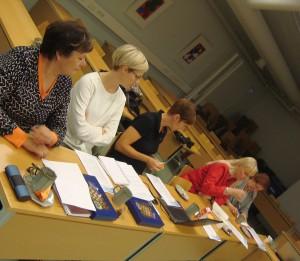 Pohjois-Pohjanmaan tilannekäynti pidettiin ELY-keskuksen tiloissa Oulussa 2.10.2014.
