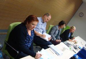 Uudenmaan tilannekatsauskäynti pidettiin Pasilan virastokeskuksessa 23.9.2014.