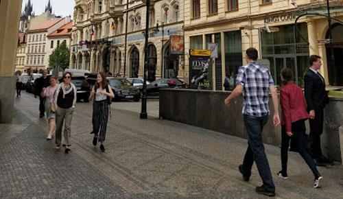 Maanantaipäviä Prahassa.