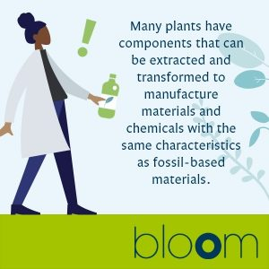 Bio-based products assists us to move towards circularity and avoid use of fossil resources