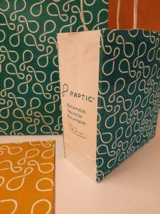 Paptic packaging material