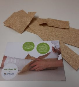 Woodcast is used in plastering and occupational theraphy