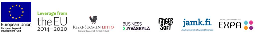 rahoittajien logoja